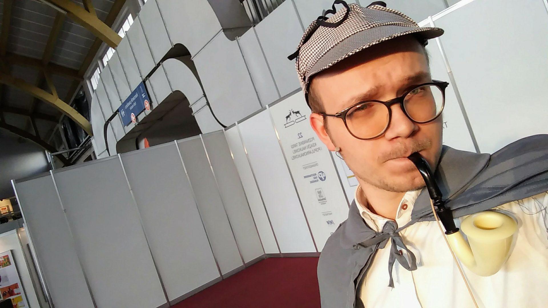 Konferansjer Mikołaj Basiński, Poznań, animator